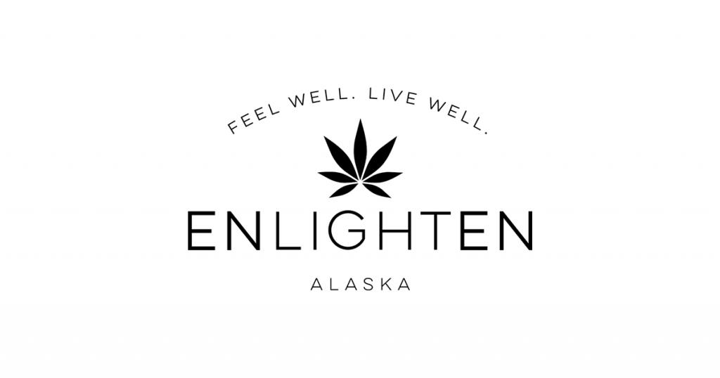 enlighten alaska dispensary logo