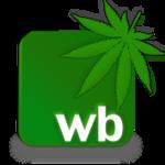 weedbook social network logo